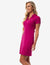 RIBBED V-NECK POLO DRESS - U.S. Polo Assn.