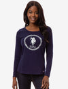 USPA BIG LOGO LONG SLEEVE T-SHIRT - U.S. Polo Assn.