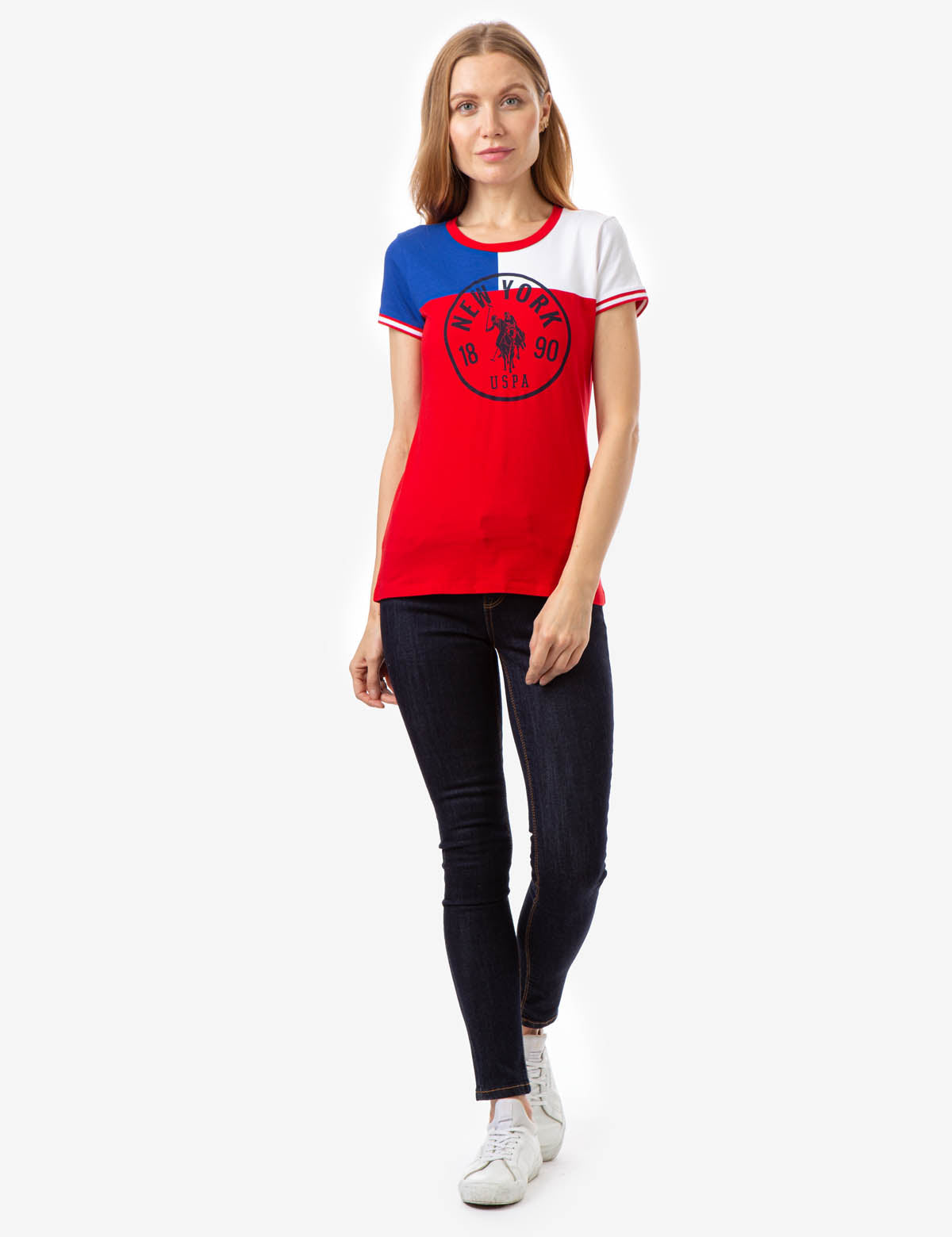 NEW YORK COLORBLOCK T-SHIRT - U.S. Polo Assn.