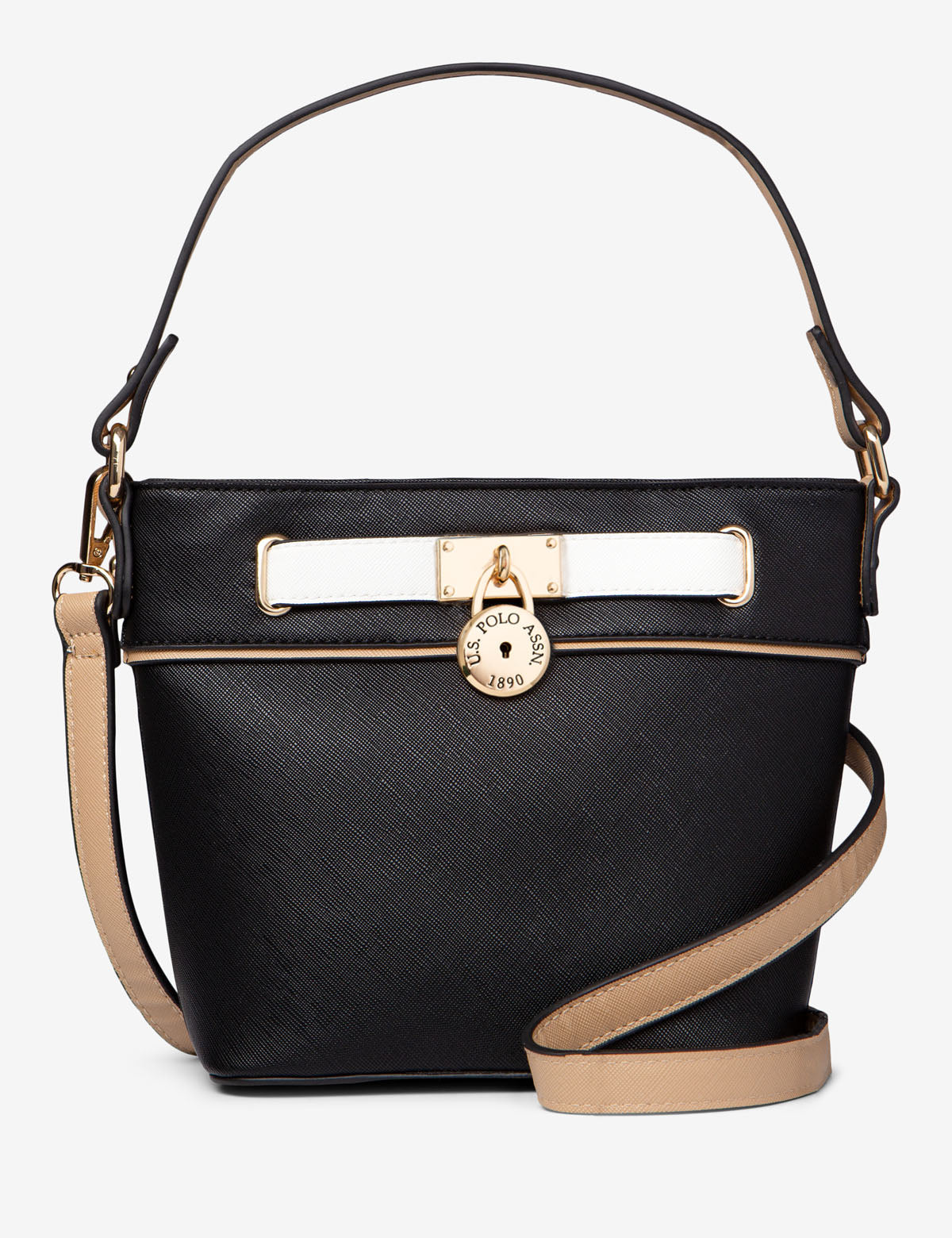 CROSSBODY BAG WITH BELTED LOCK