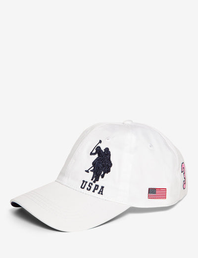 BASEBALL CAP WITH LARGE LOGO - U.S. Polo Assn.