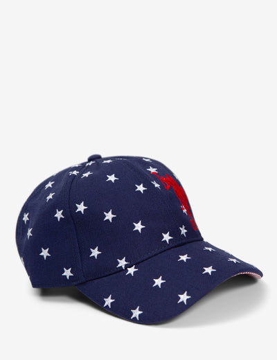 STAR PRINT BASEBALL CAP - U.S. Polo Assn.