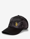 SATIN BASEBALL CAP - U.S. Polo Assn.