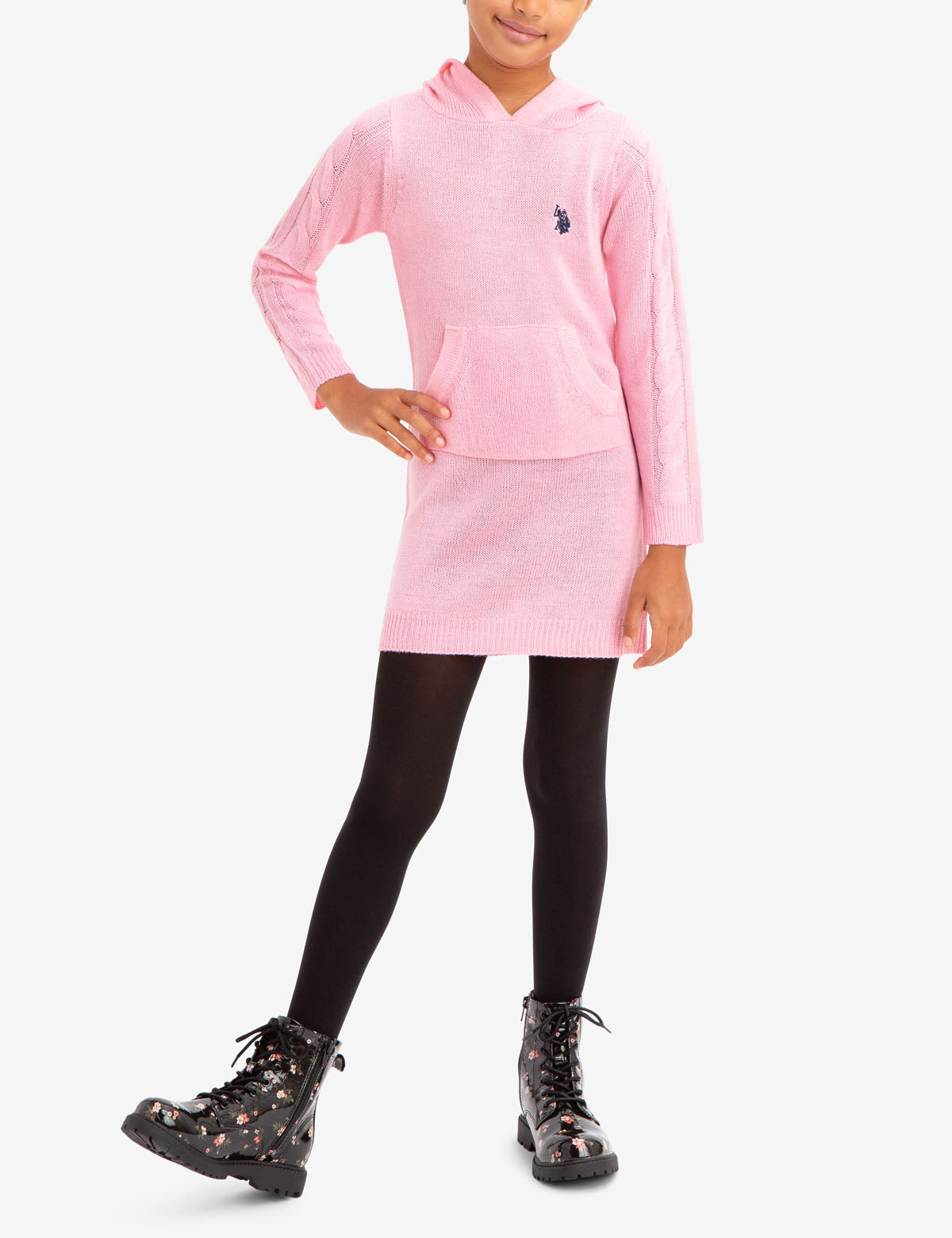 GIRL'S SWEATER DRESS - U.S. Polo Assn.