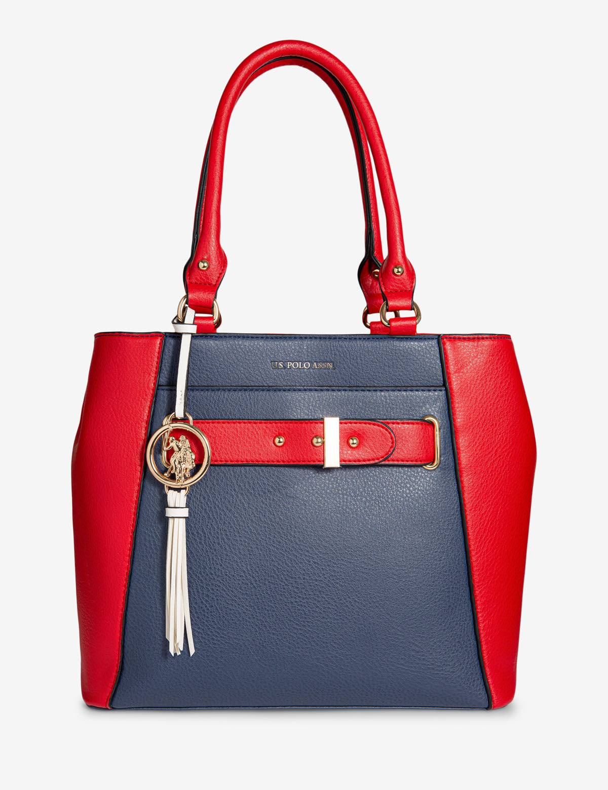 COLORBLOCK SATCHEL - U.S. Polo Assn.