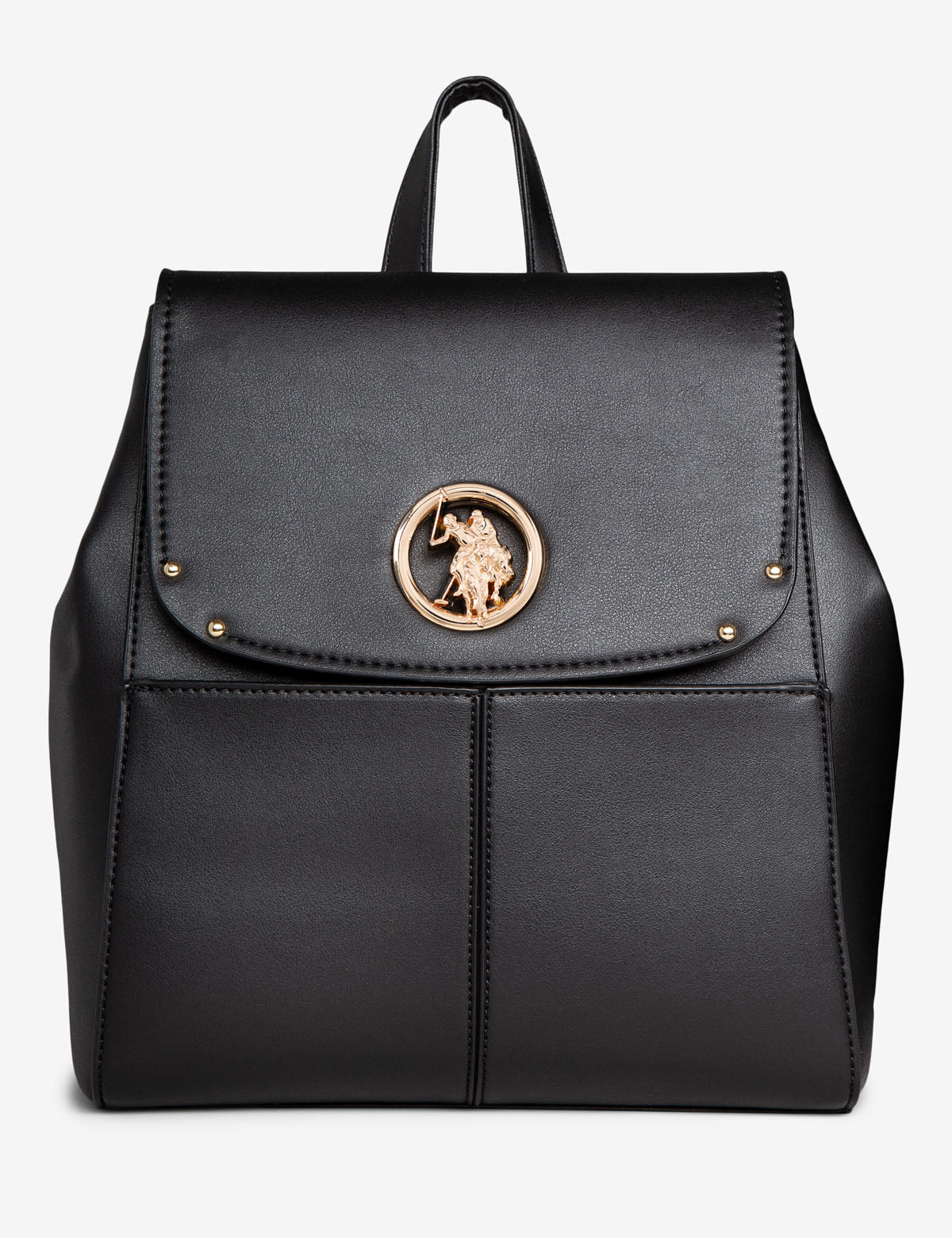 BACKPACK WITH LOGO MEDALLION