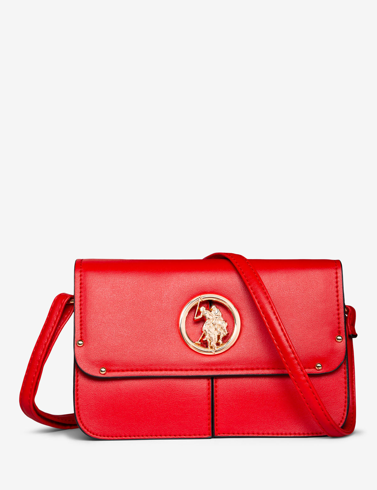 CROSSBODY WITH LOGO MEDALLION