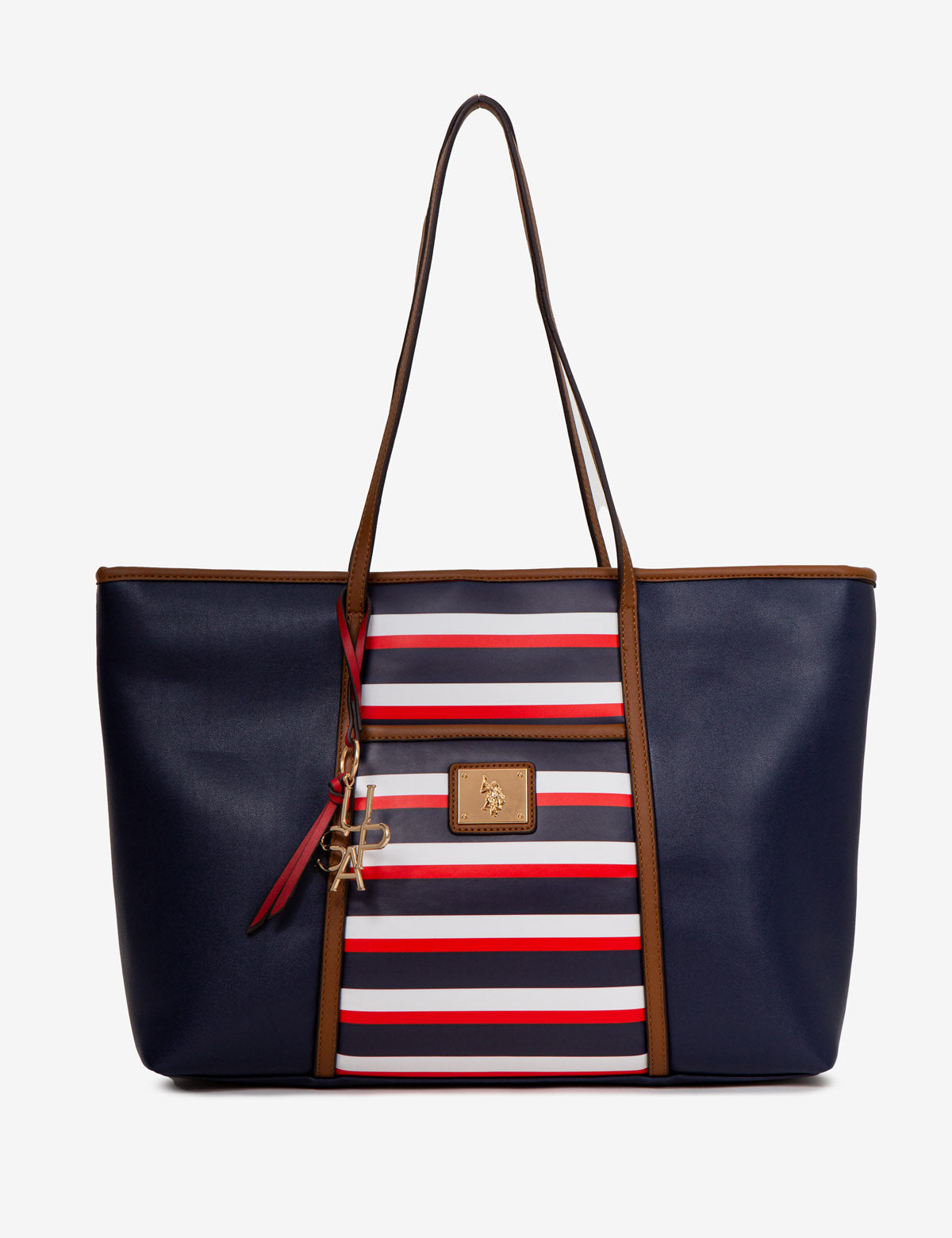 USPA STRIPE TOTE BAG - U.S. Polo Assn.