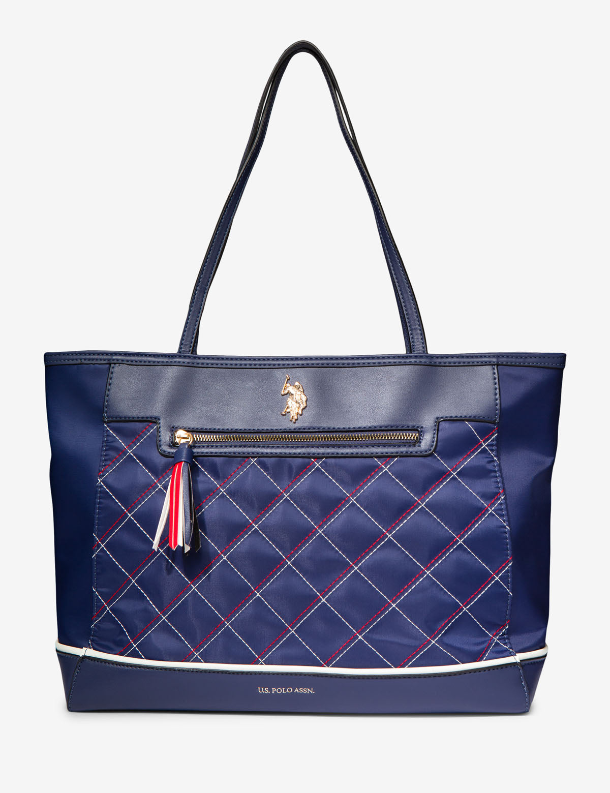 QUILTED NYLON TOTE - U.S. Polo Assn.