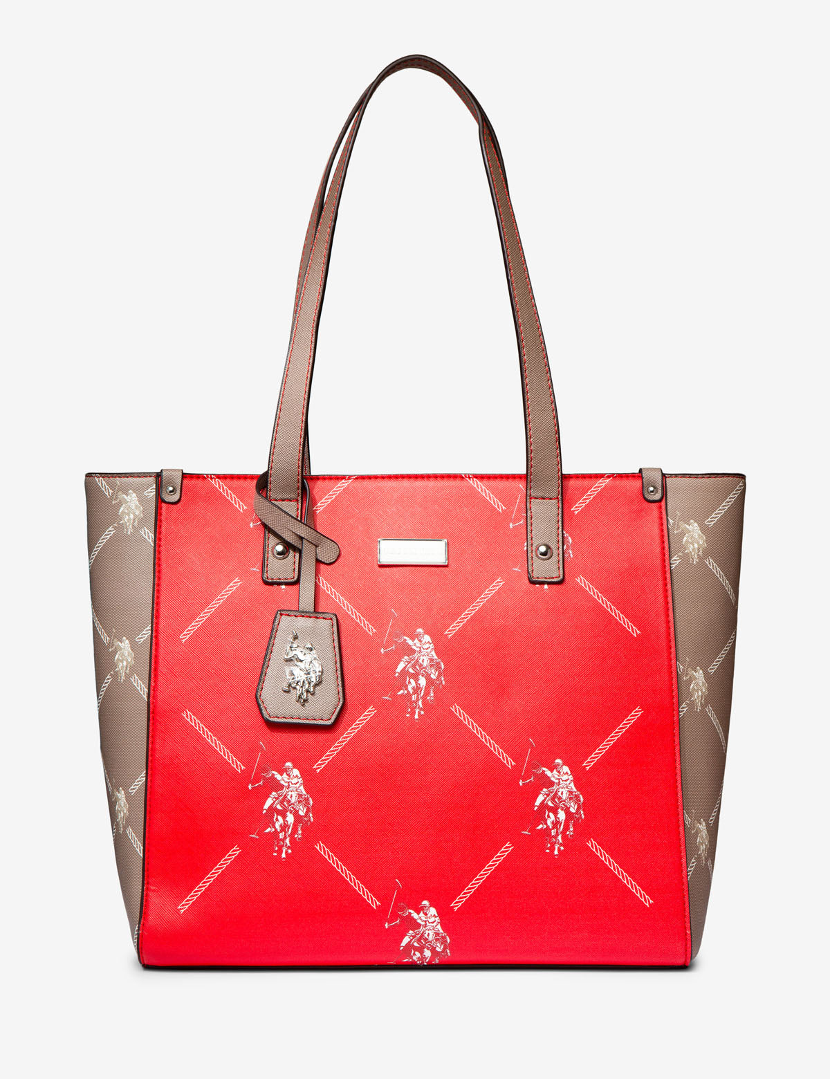 COLORBLOCK SIGNATURE HANDBAG - U.S. Polo Assn.