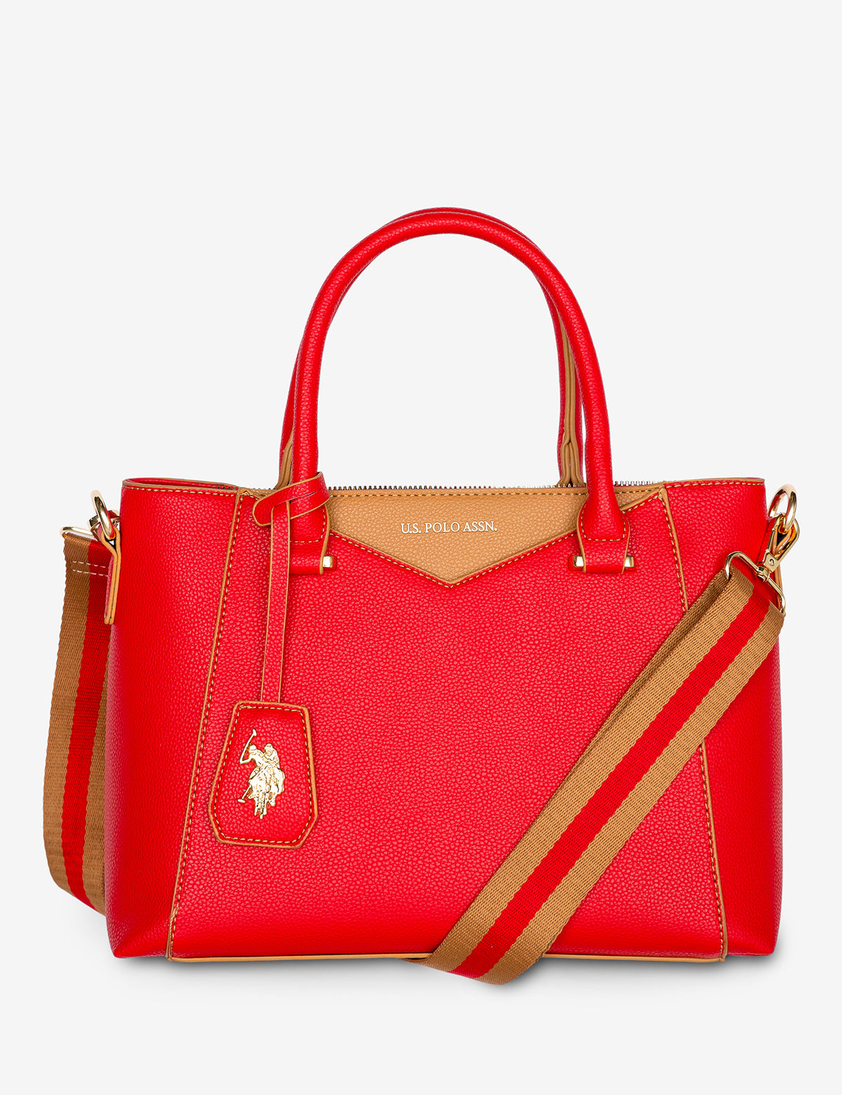 ENVELOPE STITCH TOTE BAG - U.S. Polo Assn.