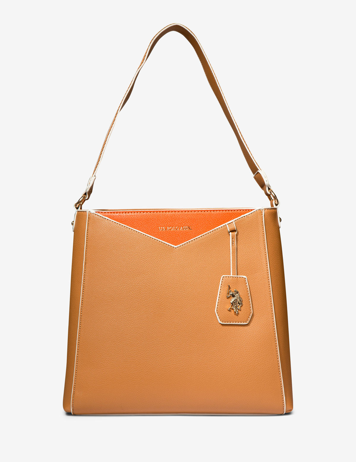ENVELOPE STITCH HOBO BAG - U.S. Polo Assn.