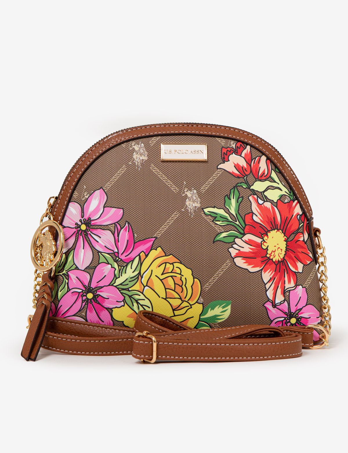 FLORAL SIGNATURE CROSSBODY BAG - U.S. Polo Assn.