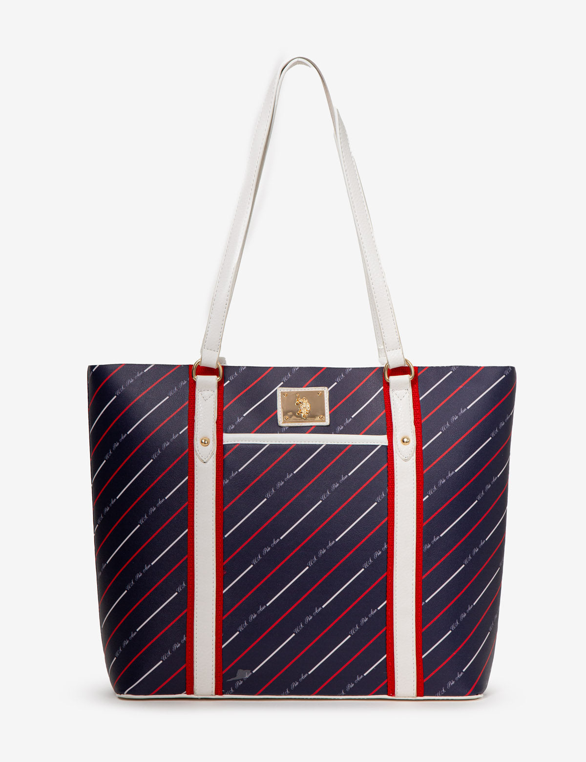 STRIPE USPA TOTE BAG - U.S. Polo Assn.