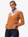 CABLE KNIT CARDIGAN - U.S. Polo Assn.