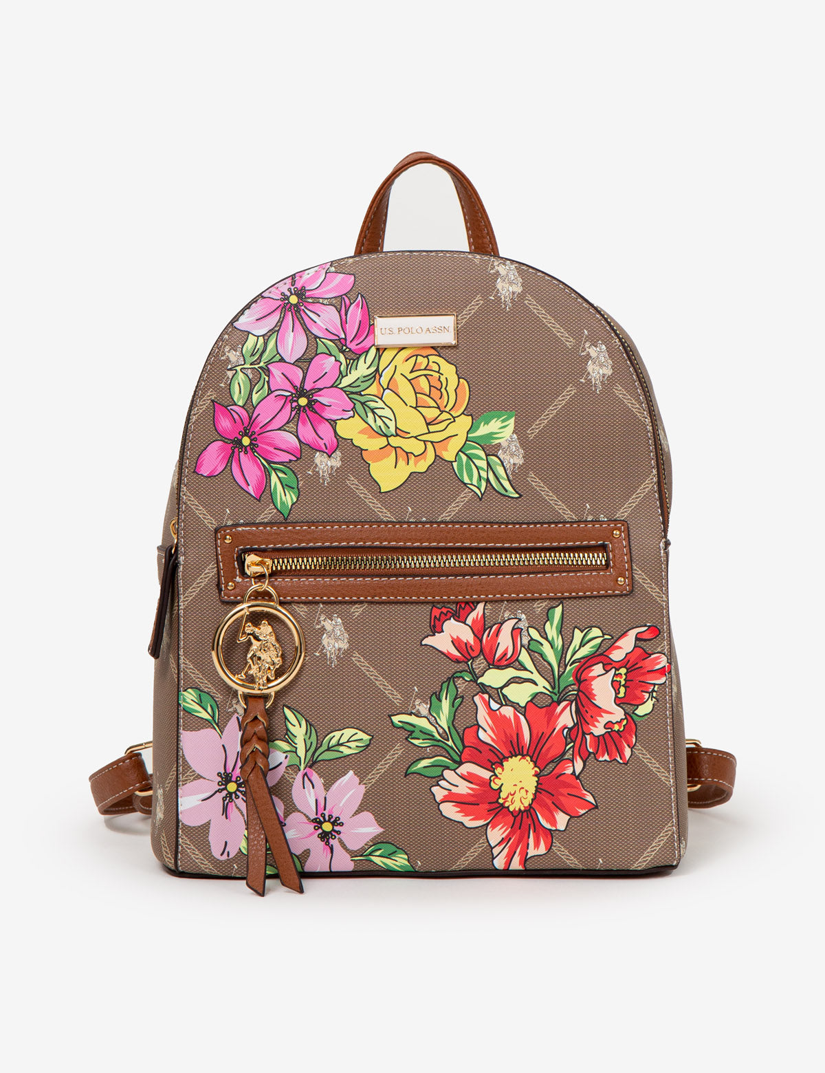 FLORAL SIGNATURE BACKPACK - U.S. Polo Assn.