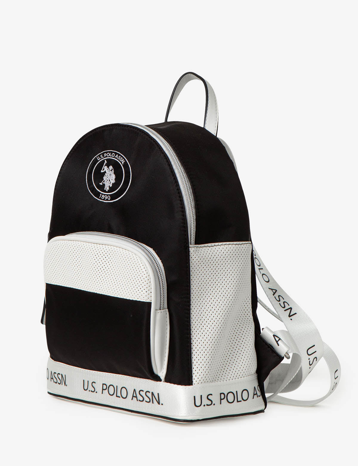 NYLON LOGO BACKPACK