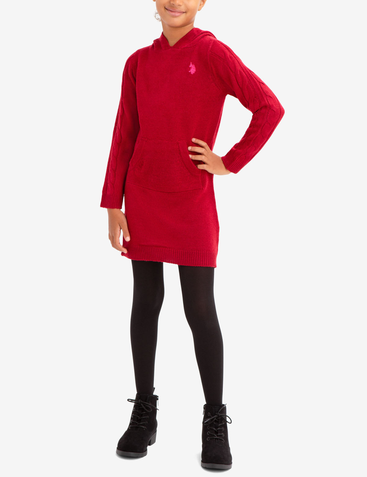 GIRL'S SWEATER DRESS