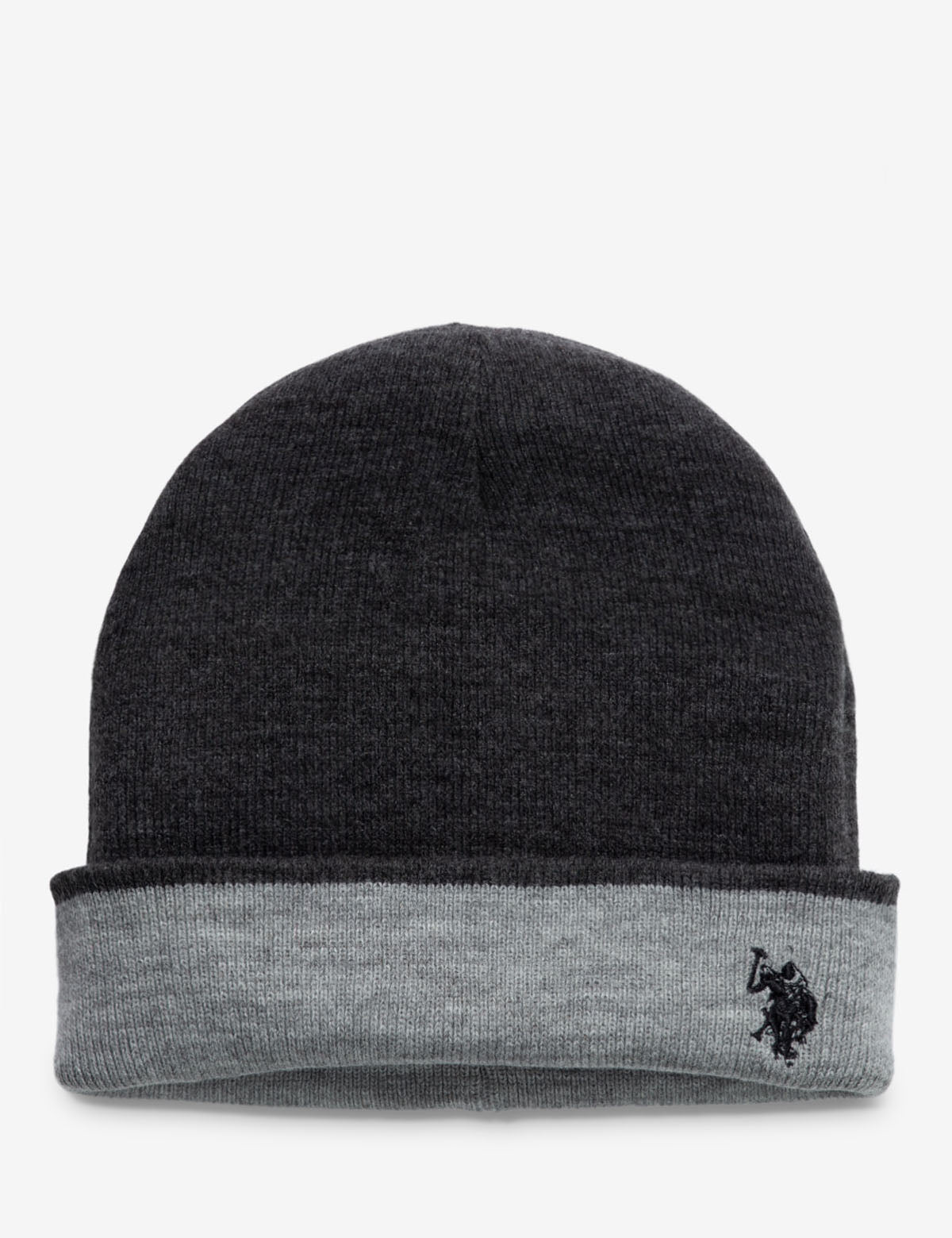 REVERSIBLE STRIPED CUFF BEANIE - U.S. Polo Assn.