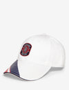 PATCH STRIPE VISOR BASEBALL CAP - U.S. Polo Assn.