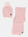 FUR HAT & SCARF SET - U.S. Polo Assn.
