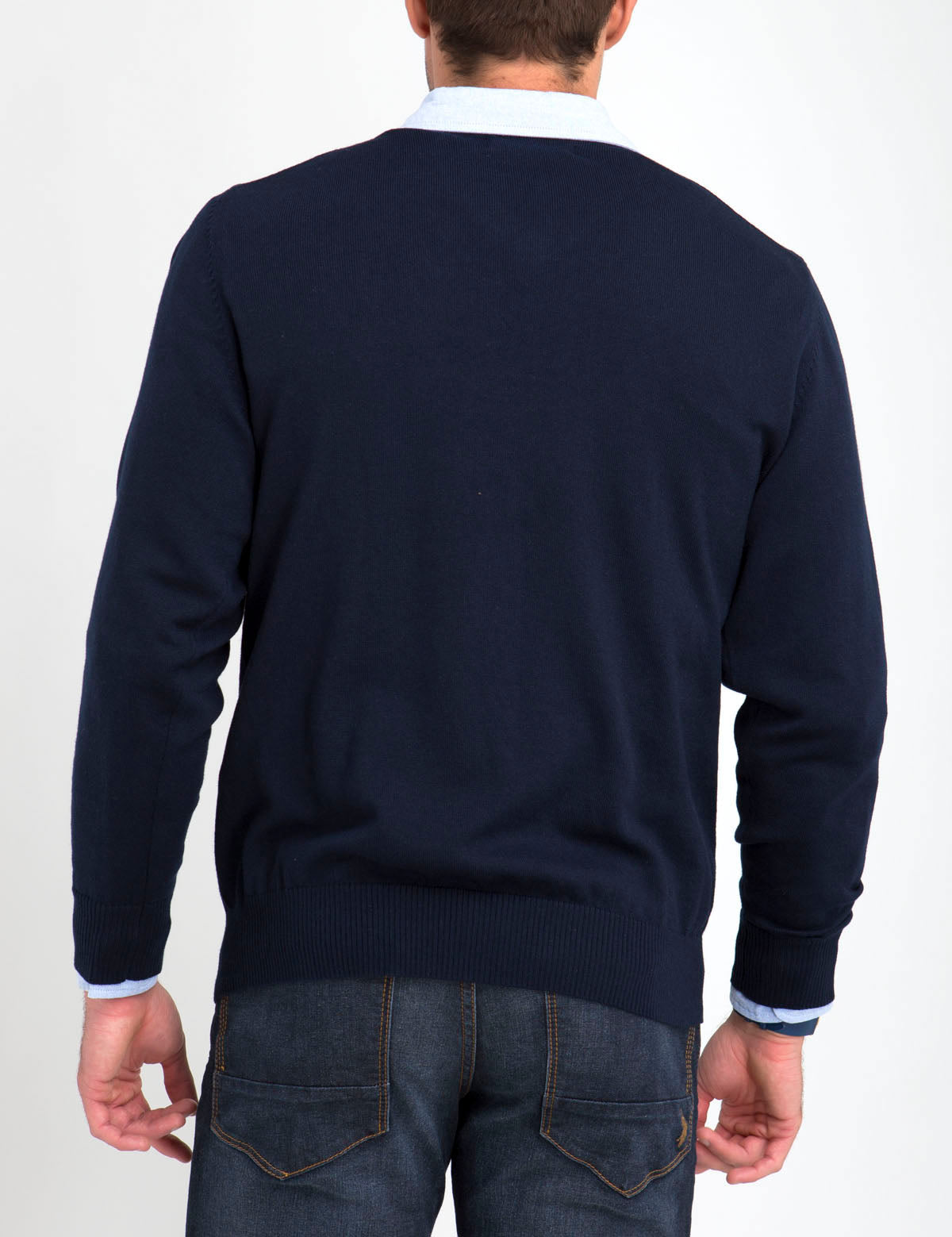 STRETCH V-NECK SWEATER - U.S. Polo Assn.