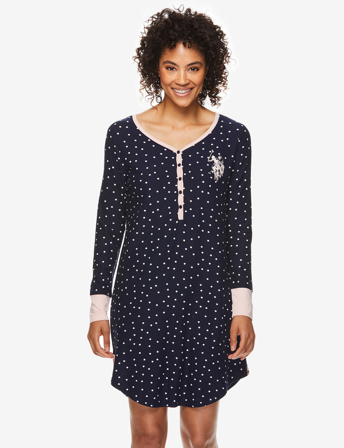 LONG SLEEVED SLEEPSHIRT - U.S. Polo Assn.