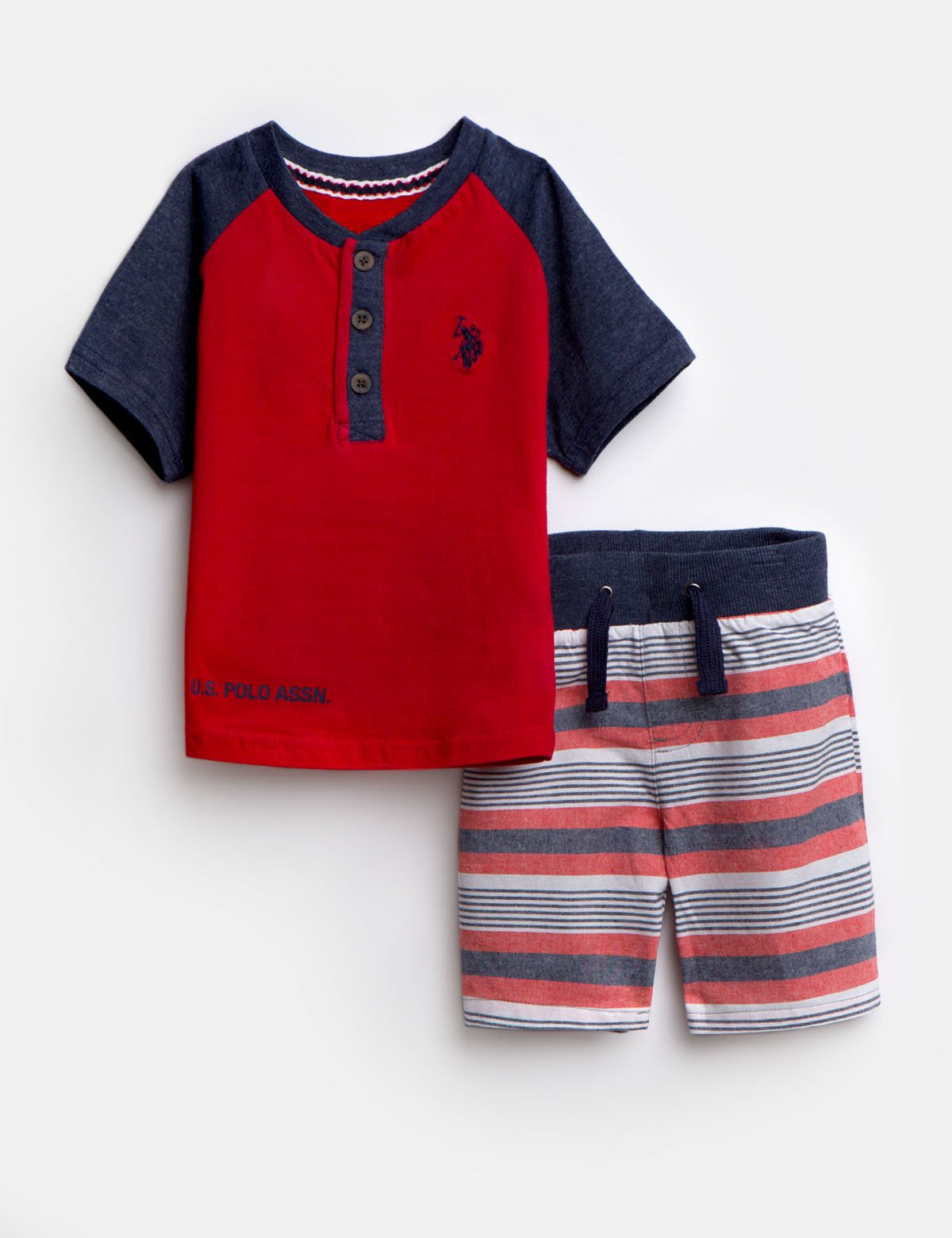TODDLER 2 PIECE SET - Tee & Shorts