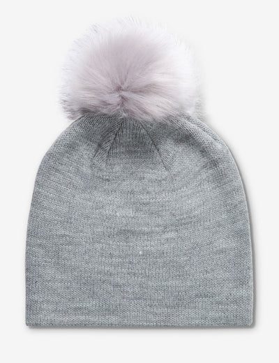 RHINESTONE BEANIE WITH POM POM ON TOP - U.S. Polo Assn.