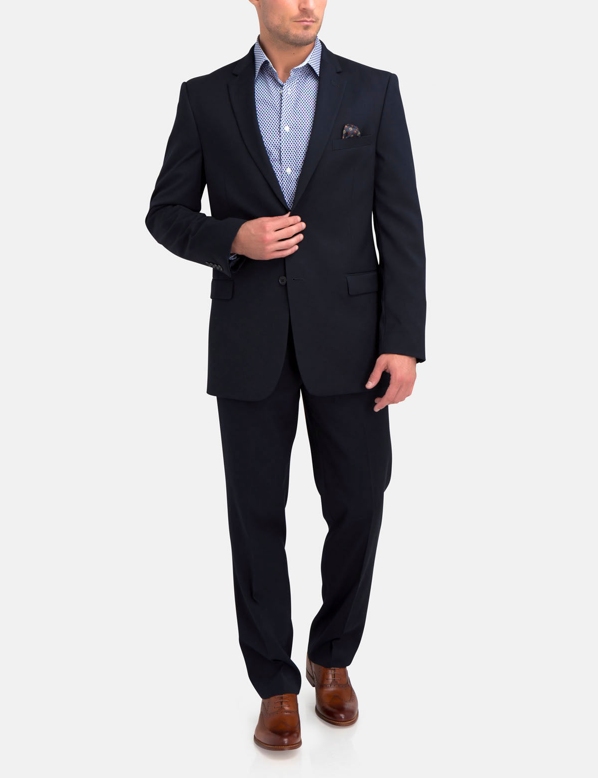 Navy Suit Jacket - U.S. Polo Assn.