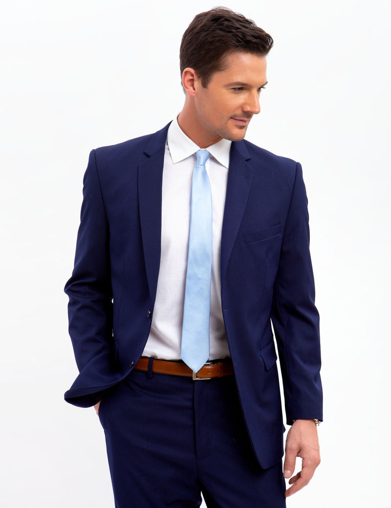 Pinstripe Suit Jacket