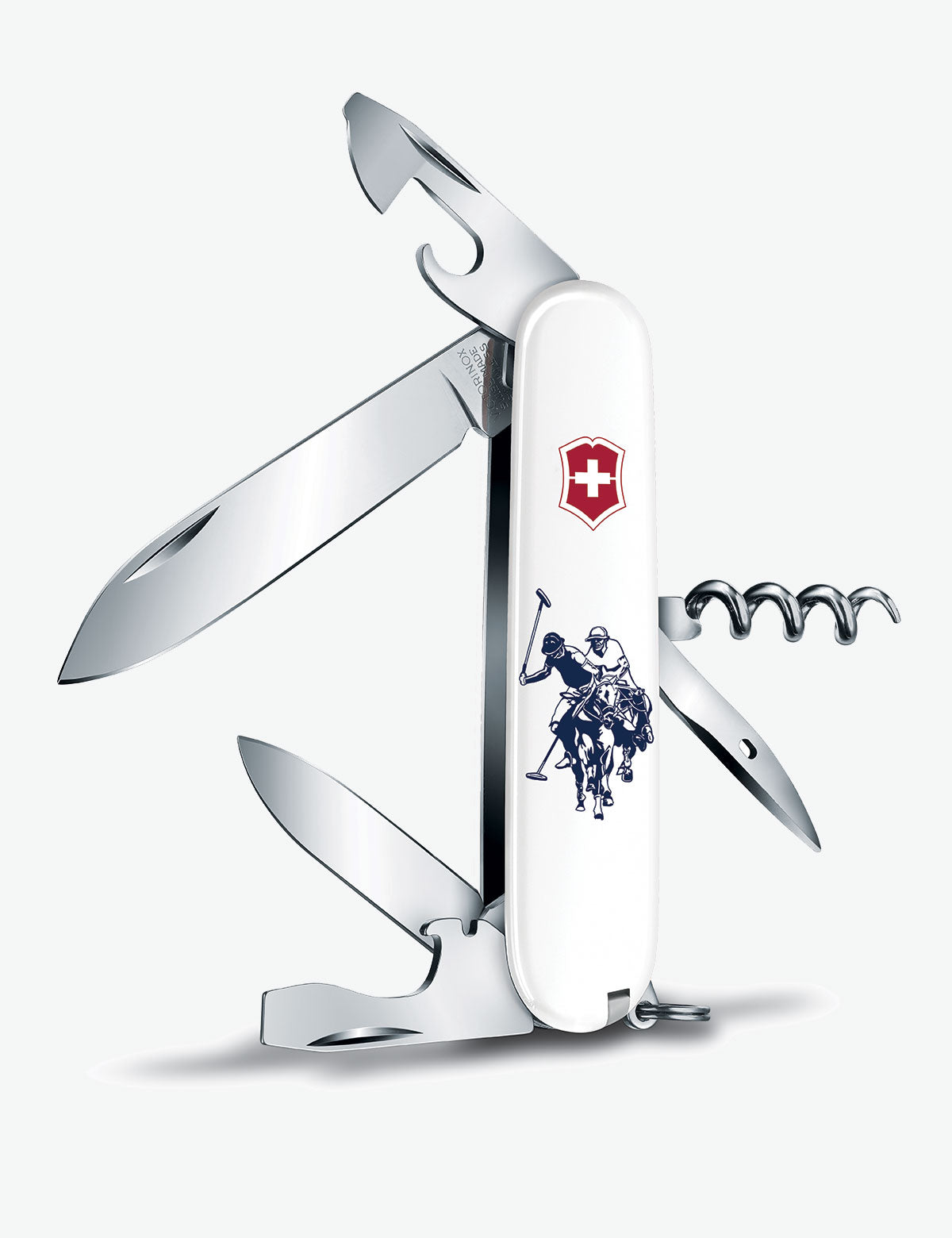 SPARTAN HARTFORD 91MM SWISS ARMY POCKET KNIFE - U.S. Polo Assn.
