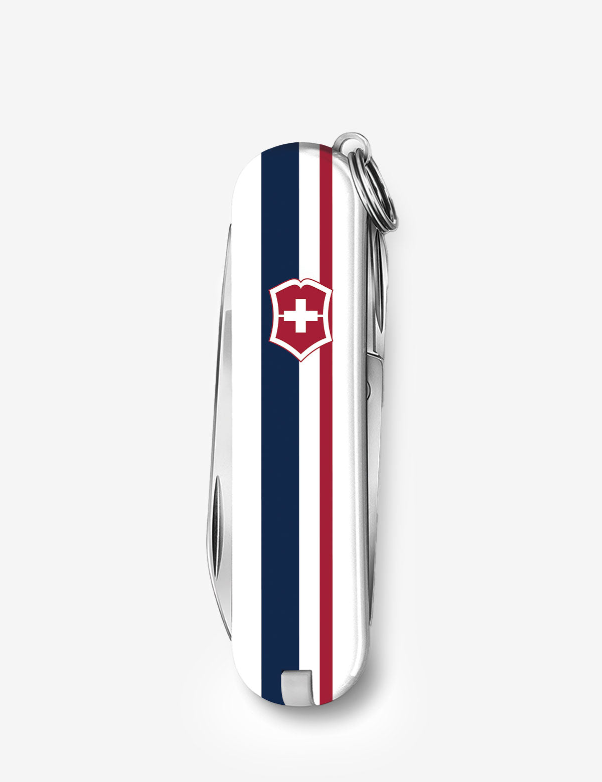 CLASSIC SIGNATURE STRIPE 58MM SWISS ARMY POCKET KNIFE - U.S. Polo Assn.