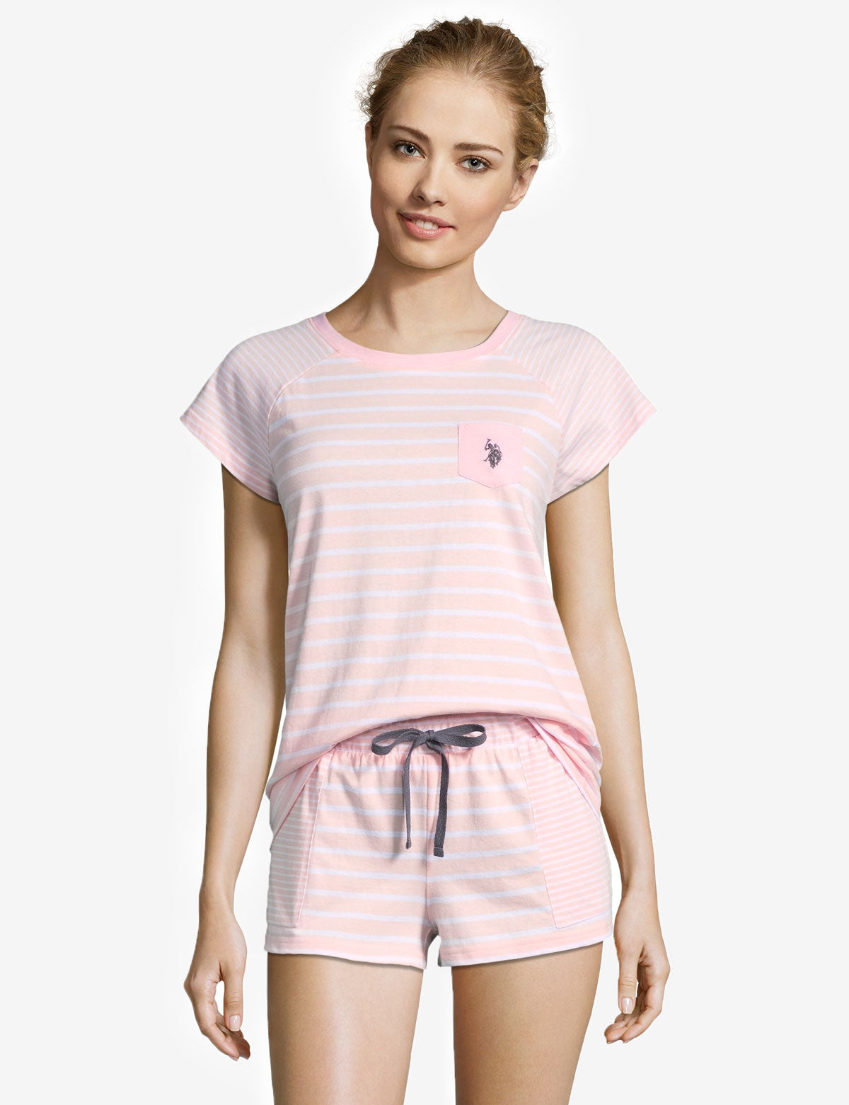 TEE SHIRT & SHORTS SET - U.S. Polo Assn.
