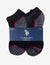 LADIES 6 PACK LOW CUT SOCKS - U.S. Polo Assn.