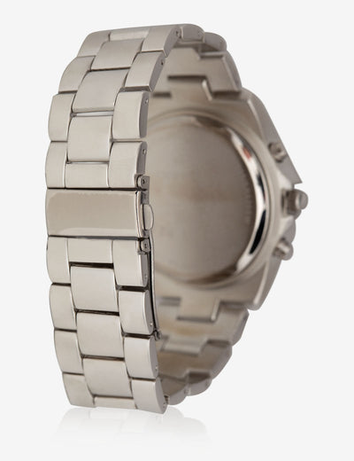 MEN'S SILVER LARGE FACED WATCH - U.S. Polo Assn.