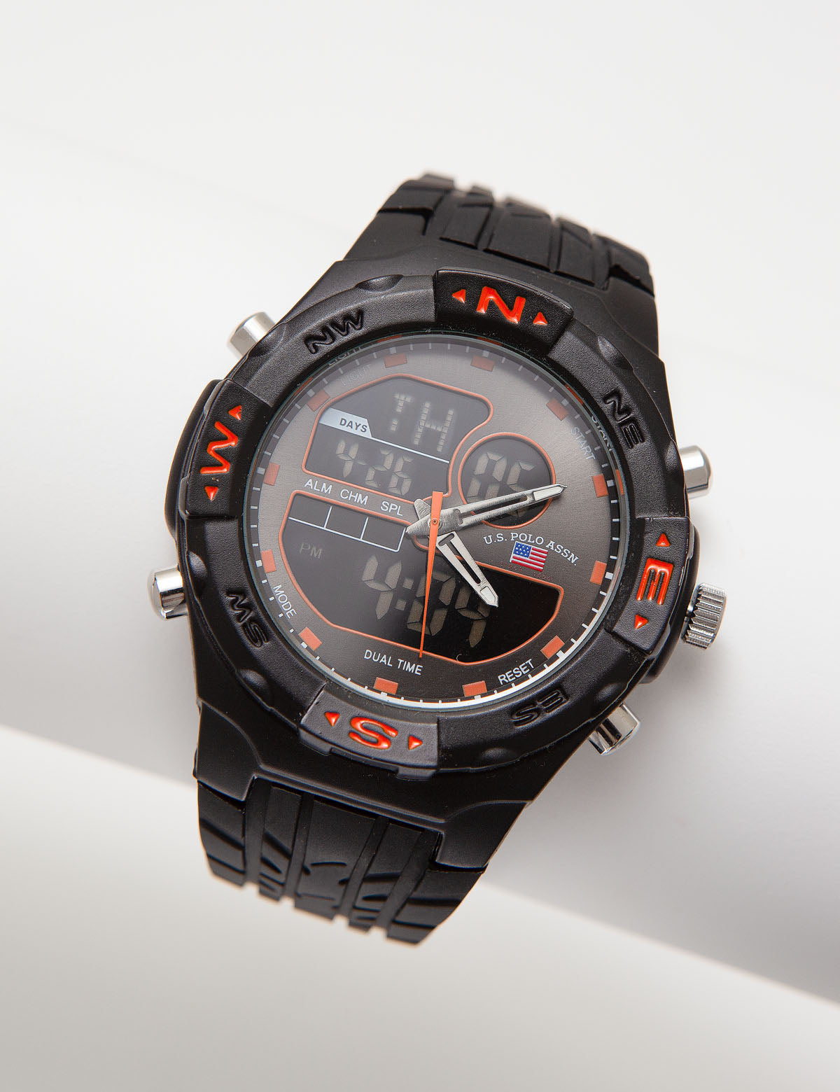 Analog-Digital Sports Watch - U.S. Polo Assn.
