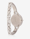 USPA WOMEN'S SILVER & RHINESTONE STUDDED WATCH - U.S. Polo Assn.
