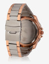 MEN'S STAINLESS STEEL & ROSE GOLD TONE WATCH - U.S. Polo Assn.