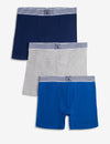 Blue Collection 3PK Cotton Boxer Brief - U.S. Polo Assn.