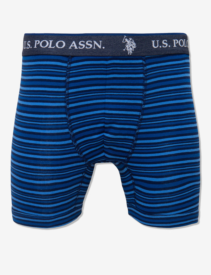 Blue Collection 3PK Cotton Boxer Brief