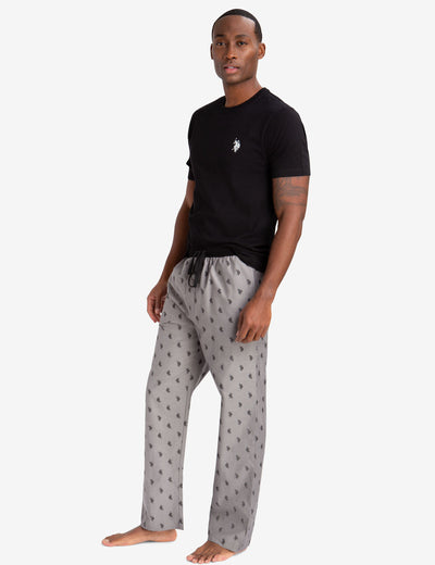 LOUNGE  SET: TEE-SHIRT & LOGO PANTS - U.S. Polo Assn.