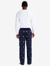LOUNGE  SET: LONG SLEEVE TEE & LUXE FLEECE PANTS - U.S. Polo Assn.