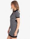 MIXED STRIPE SWEATER DRESS - U.S. Polo Assn.
