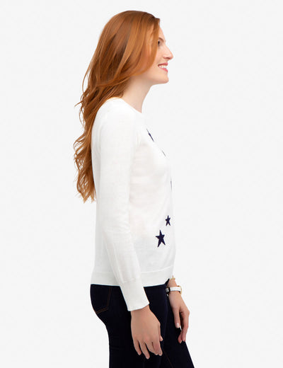 STAR CREW NECK SWEATER - U.S. Polo Assn.