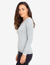 SOLID LUREX V-NECK SWEATER - U.S. Polo Assn.