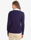 V-NECK CABLE KNIT SWEATER - U.S. Polo Assn.