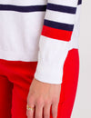 COLORBLOCK STRIPE SWEATER - U.S. Polo Assn.