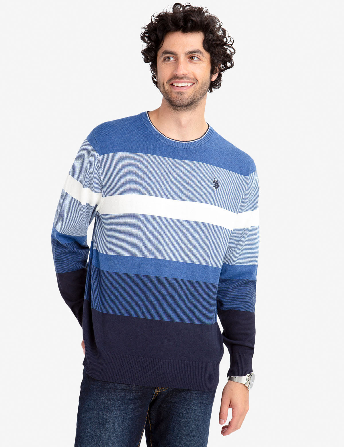 STRIPED SWEATER - U.S. Polo Assn.