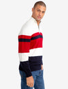 QUARTER ZIP STRIPED SWEATER - U.S. Polo Assn.